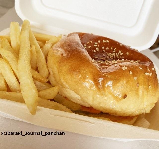 10キッチンピーナッツのハンバーガーkk