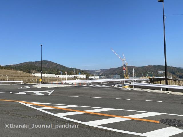 茨木亀岡線から1青空道路スタート
