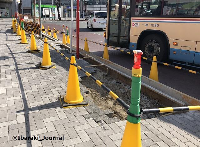 0223阪急茨木市バス停工事IMG_0269