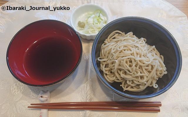 手打ちそば茨木のおそばを食べるDSC_1220