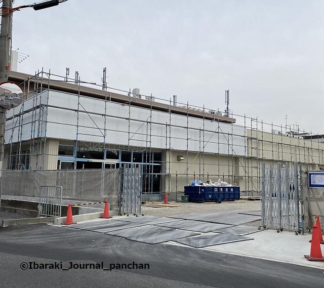 総持寺で工事2月の風景20210212