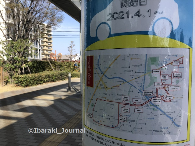 3済生会病院バスの路線IMG_0965