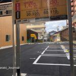 0409阪急本通の駐車場の様子IMG_1474