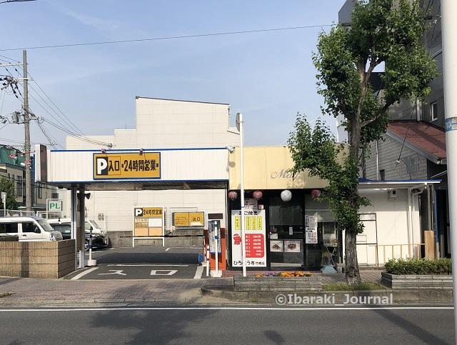 0514竹橋からあげ金と銀横の駐車場入り口IMG_2262