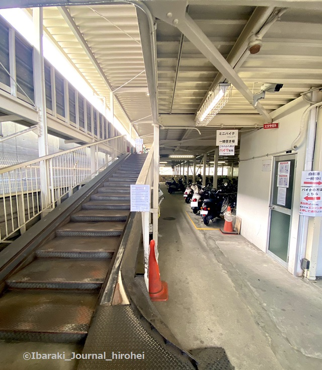 茨木市駅東口駐輪場の中の様子IMG_3280