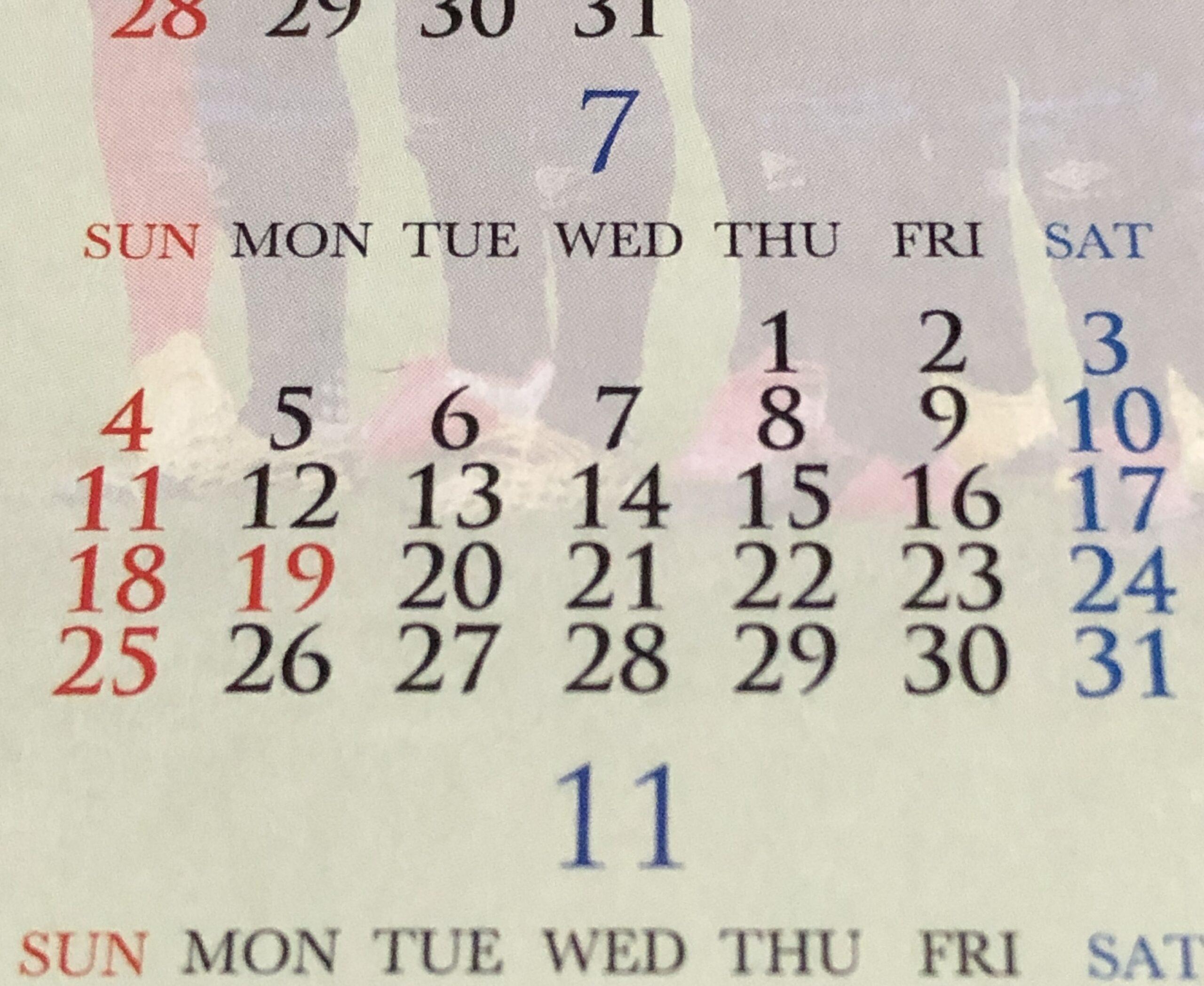 2021年7月カレンダーIMG_3146