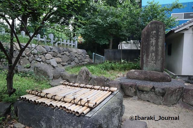 0606茨木神社の黒井の清水IMG_1062