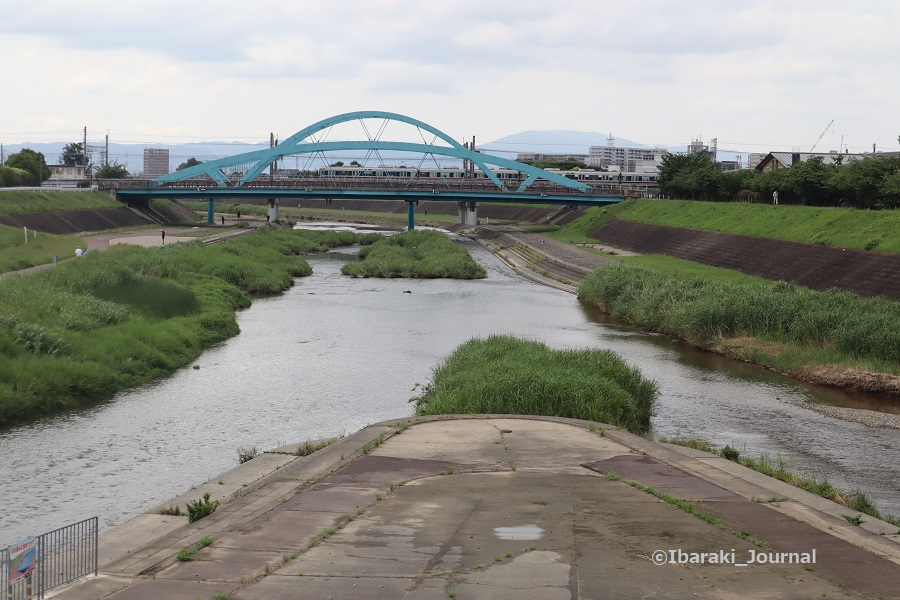 0620安威川と茨木川の合流のところIMG_1568