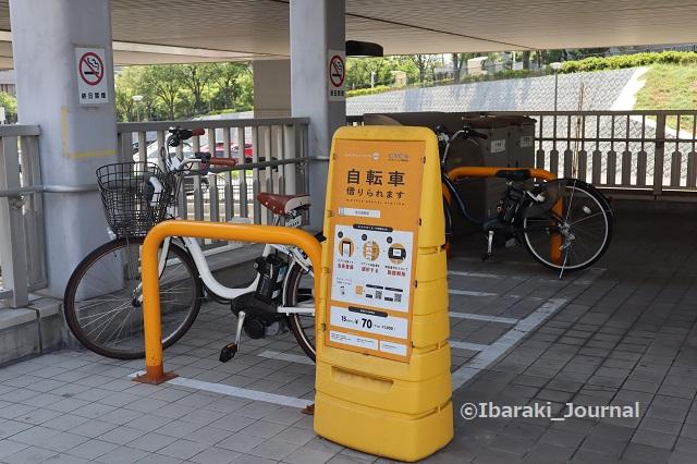 0711阪大病院前のレンタサイクルIMG_2122