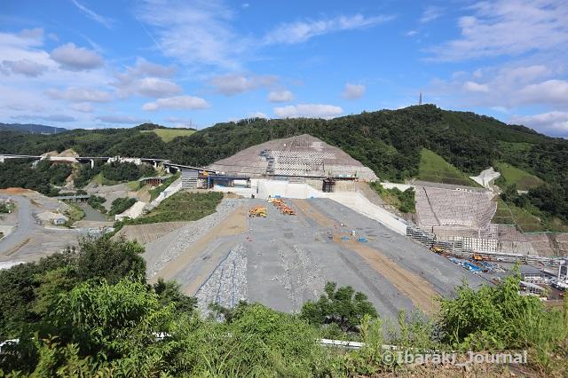 0815安威川ダム全景1-1IMG_3019