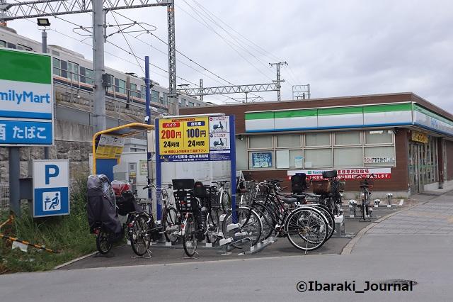 4JR総持寺三島ファミマ駐輪場IMG_2867