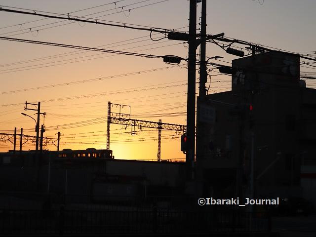 1田中町交差点日の出IMG_4817